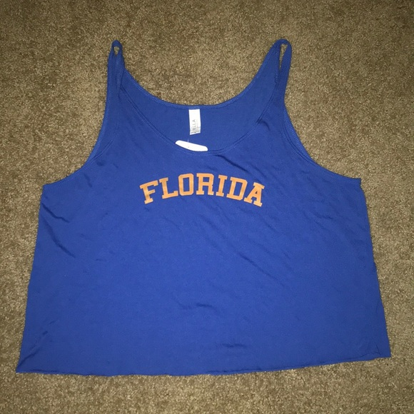 The Copper Closet Tops - UF gators tank top